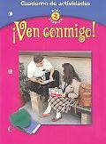Ven Conmigo Cuaderno De Gramatica  Holt Spanish 2