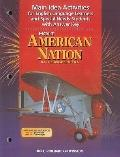 American Nation: Modern Era: Main Idea Activities