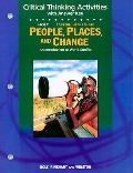 People, Places and Change: The East: Critical Thinking Activities