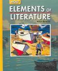 Holt Elements of Literature First Course