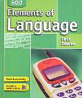 Elements of Language First Course