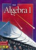 Holt Algebra 1: Student Edition