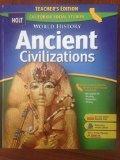Ancient Civilizations Teacher's Edition California Social Studies
