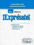 Expresate: Activities for Communication, Vol. 1