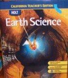 Earth Science (California Teacher's Edition)