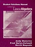 Elementary Linear Algebra: Student Solutions Manual