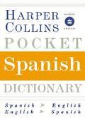 Harpercollins Pocket Spanish Dictionary Spanish/English, English/Spanish