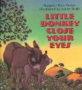 Little Donkey Close Your Eyes - Margaret Wise Brown - Hardcover