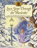 Lucy Steps Through the Wardrobe (The World of Narnia Series) - Frederic Thomas - Hardcover