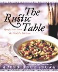 Rustic Table Simple Fare From The World's Family Kitchens