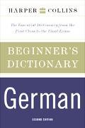 Harpercollins Beginner's German Dictionary