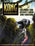 Kong Coloring and Activity Book and Crayons