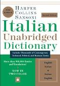 Harpercollins Sansoni Italian Dictionary English-Italian, Italian-English