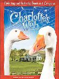 Charlotte's Web Coloring and Activity Book and Crayons