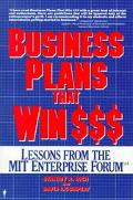 Business Plans That Win $$$ Lessons from the Mit Enterprise Forum