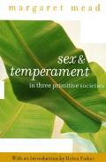 Sex and Temperament In 3 Primitive Societies