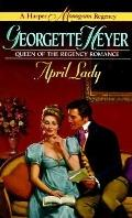 April Lady - Georgette Heyer - Mass Market Paperback