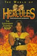 The World of Hercules: The Legendary Journeys Map - Publishers of HarperCollins - Paperback