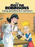 Meet the Robinsons Coloring And Activity Book And Stickers