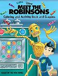 Meet the Robinsons Coloring And Activity Book And Crayons