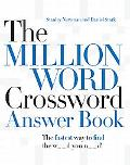 Million Word Crossword Answer Book