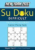 New York Post Difficult Su doku The Official Utterly Addictive Number-placing Puzzle