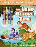 Land Before Time Coloring and Activity Book and Crayons