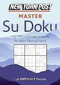 New York Post Master Su Doku: Difficult
