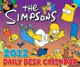 The Simpsons 2012 Daily Desk Calendar