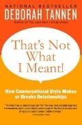 That's Not What I Meant! : How Conversational Style Makes or Breaks Relationships