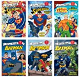I Can Read Superman and Batman, Level 2 - 6 Book Set