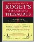 Roget's International Thesaurus