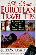 Best European Travel Tips 1996-1997