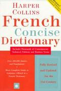 Harper Collins French Concise Dict.-upd