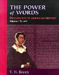 Power of Words Documents in American History