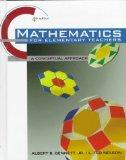 Mathematics for Elementary School Teachers: A Conceptual Approach