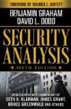 Security Analysis (Business and Economics, no volume)