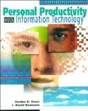 Personal Productivity With Information Technology