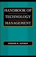 Handbook of Technology Management