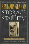Storage and Stability - Benjamin Graham - Hardcover