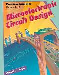 Preview Guide: Microelectronic Circuit Design