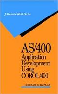 As/400 Appl.development Using Cobol 400
