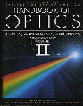 Handbook of Optics Devices, Measurements, and Properties