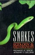 Snakes: Ecology and Behavior - Richard A. Seigel - Paperback