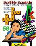Scribble Scrabble: Ready-in-A-Minute Math Games - Vicki F. Sharp - Paperback