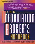 Information Broker's Handbook - Sue Rugge - Hardcover - 3RD