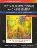 Psychological Testing and Assessment: An Introduction to Tests and Measurement Sixth Edition...