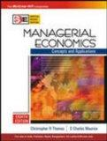 Managerial Economics : Concepts and Applications International Eighth Edition