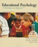 Educational Psychology: A Developmental Approach