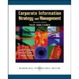 Corporate Information: Strategy and Management; Text and Cases